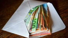 In der Krise horten die Menschen Bargeld
