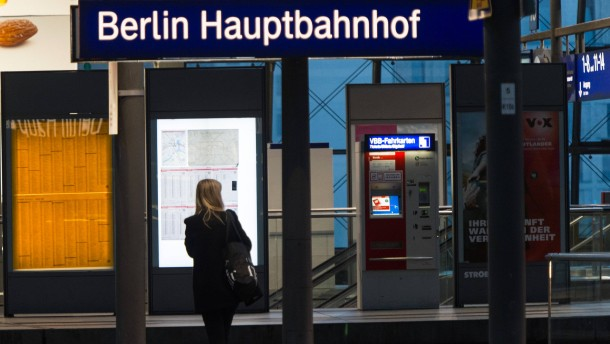 News Bahnstreik