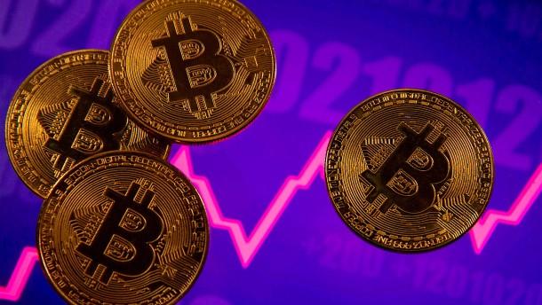 Bitcoin fällt unter 40.000 Dollar