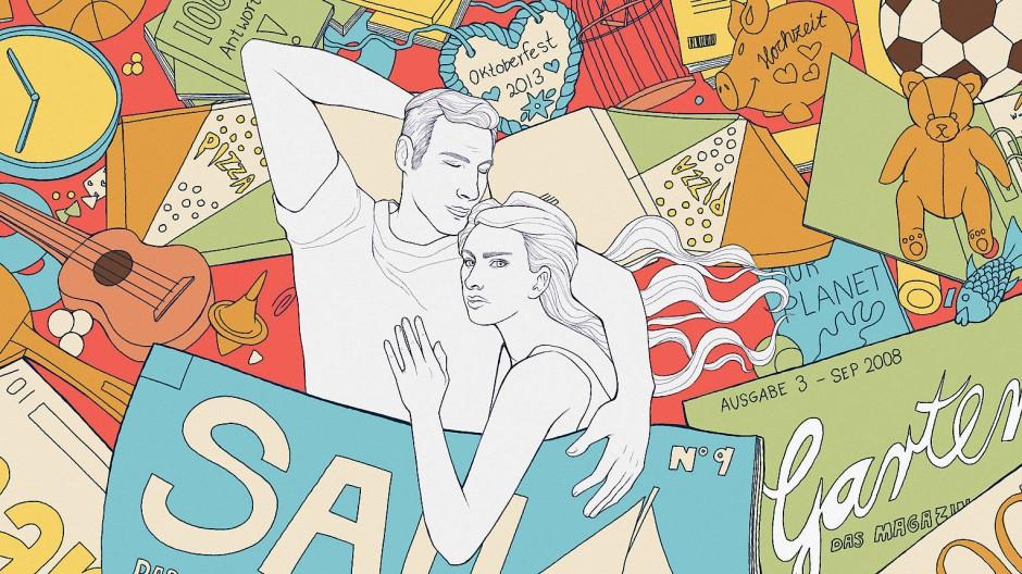 Was der eine Partner gemütlich findet, ist dem anderen Partner viel zu chaotisch.