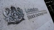 Markenzeichen der Londoner Börse