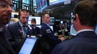 Die Stimmung unter den Händlern ist auch an der New Yorker Börse angespannt: Eine Lösung für den Brexit gibt es derzeit nicht.