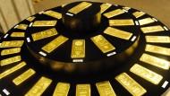Gold in einem Tokioter Schmuckgeschäft