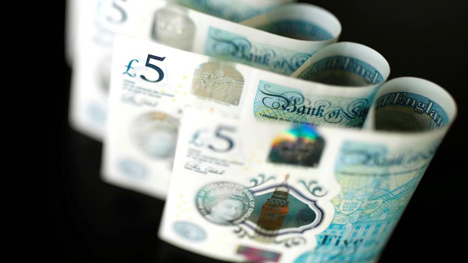 Britisch Banknoten