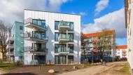 Quartiersverdichtung in Bremen: Preisgekrönter Neubau zwischen alten Mietshäusern