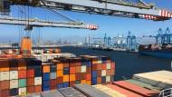Container im Hamburger Hafen: Magellan Maritimes Investments war im Juli insolvent gegangen.