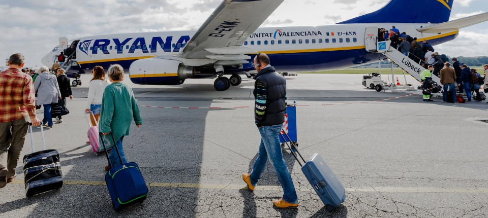 Viele Ryanair-Passagiere sind von den Streichungen betroffen.