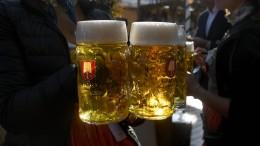 Bierpreise steigen binnen eines Jahres um fünf Prozent