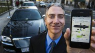Peter Faris fährt gewerbsmäßig so etwas wie Taxi - dank Uber.