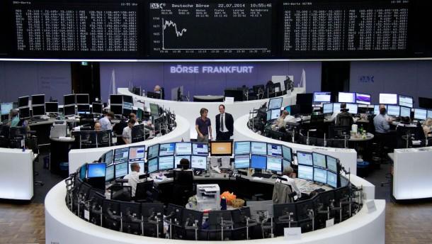 Dax lässt Ukraine-Schock zunächst hinter sich
