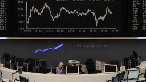Aktienmärkte leiden unter Wachstumsangst