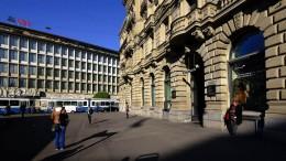 Auch Schweizer Banken sind nicht mehr gefragt