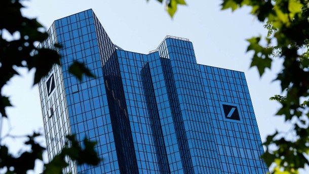 Deutsche Bank erwartet hohe Belastung
