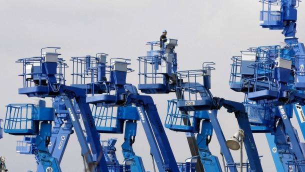 Weniger Aufträge für Japans Maschinenbau