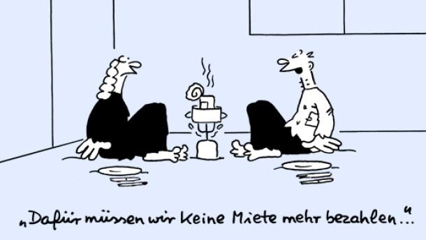 Karikatur / Kai / Eigentumswohnung