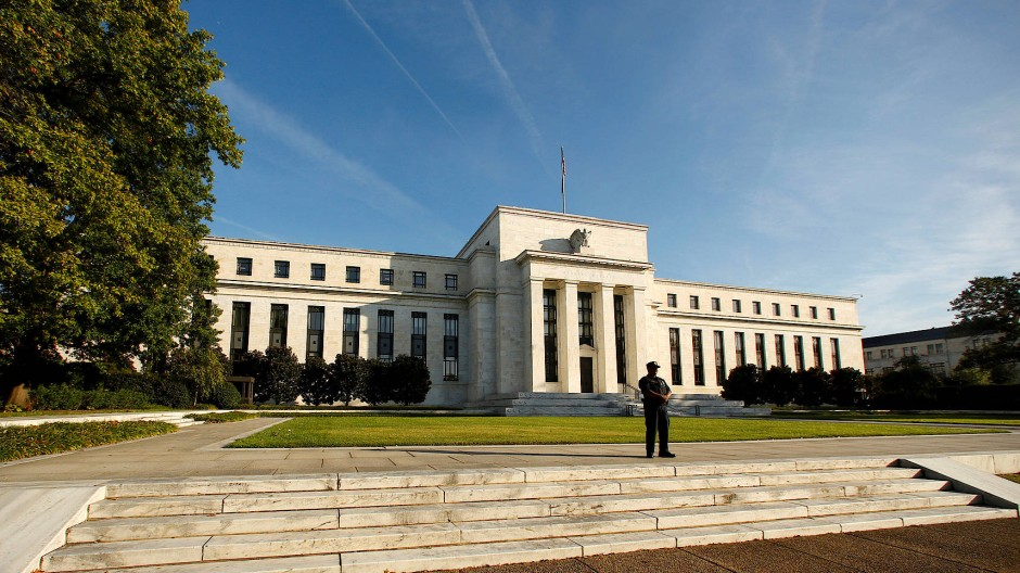 Die amerikanische Notenbank Federal Reserve in Washington