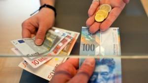 Schweizer Notenbank wird herausgefordert