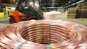Industriemetalle profitieren von Trump