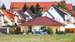 Weniger als die Hälfte der Deutschen ist Hausbesitzer