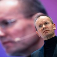 Wirecard-CEO Braun während einer Konferenz