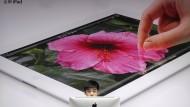 Mit iPad und iPhone hat Apple in vergangenen Quartal einen Rekordgewinn erzielt.