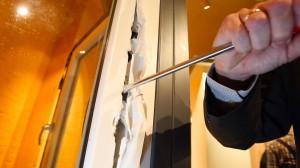 Die meisten Einbrecher lassen schnell von ihrem Vorhaben ab, wenn die Häuser gut gesichert sind.