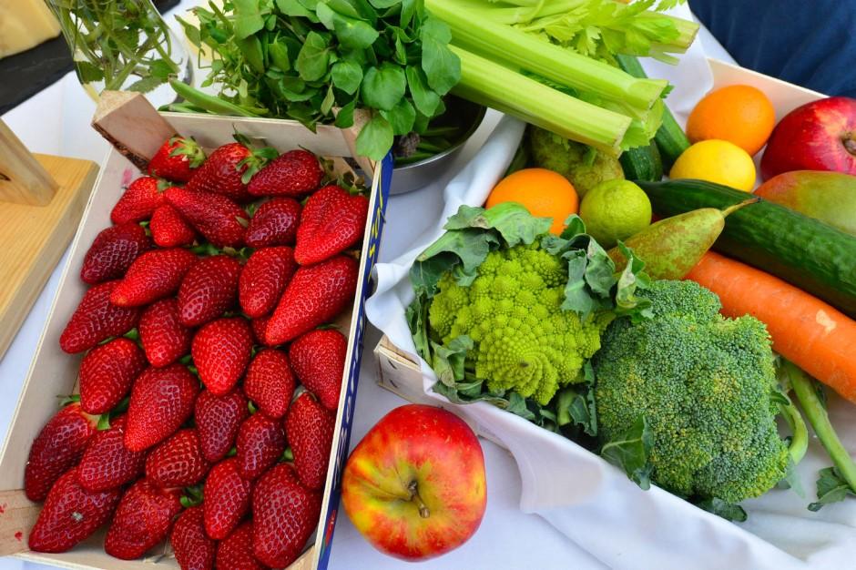 Frisches auf dem Tisch: Da sollte nicht nur jedes Veganer-Herz höher schlagen.