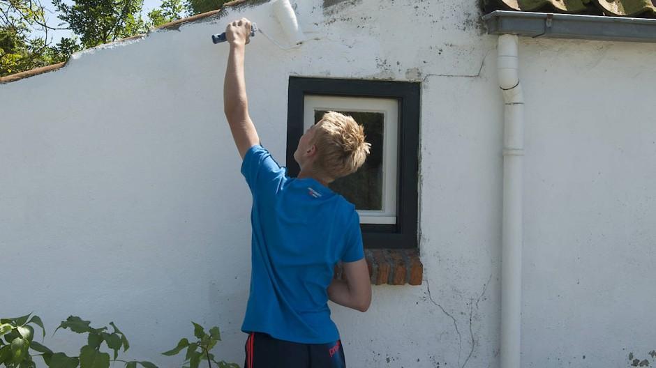 Bei älteren Häusern gibt es immer etwas zu tun.