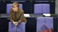Generaldebatte mit Merkel über Haushalt und Flüchtlinge
