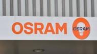 Firmenlogo des Lichttechnikherstellers Osram