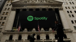 Spotify-Aktie startet deutlich über dem Referenzkurs