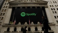 Der verlustbringende Musik-Streamingdienstes Spotify feierte im April sein Debüt an der New York Stock Exchange.