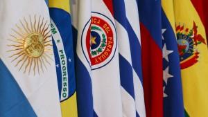 Südamerikanische Wirtschaftsgemeinschaft Mercosur trifft sich in Uruguay
