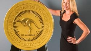 Größtes Goldstück der Welt kommt nach Deutschland
