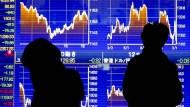 Anleger flüchten in den Yen