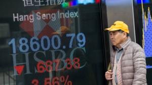 Hongkong holt Börsenbeben nach