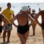 Fast die Hälfte der Deutschen über 65 Jahre treiben regelmäßig Sport - das sieht man.