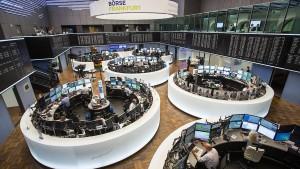 Breiter Kursverfall an den Weltbörsen