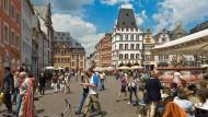 Anziehungspunkt: Der historische Marktplatz