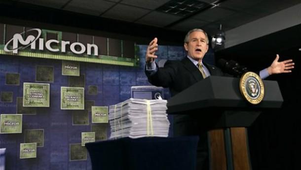 Aktie von Micron Technology steuert Zwölf-Jahres-Tief an