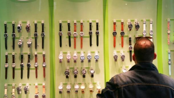 Swatch-Zahlen beflügeln Luxusgüter-Aktien