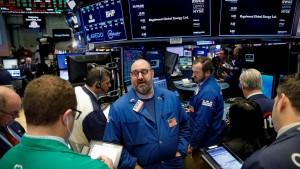 Was macht die Wall Street?