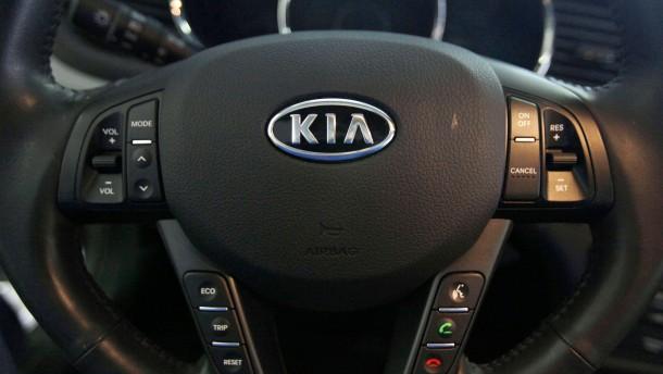 Kia und Hyundai rufen 1,9 Millionen Autos in Amerika zurück