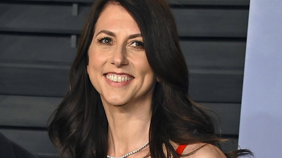MacKenzie Scott auf einem Foto aus dem Jahr 2018, als sie noch mit Jeff Bezos verheiratet war