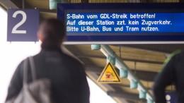 Erneute Warnstreiks bei der Bahn