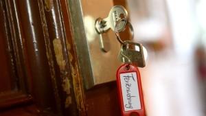 Dürfen Feriengäste ins Haus?