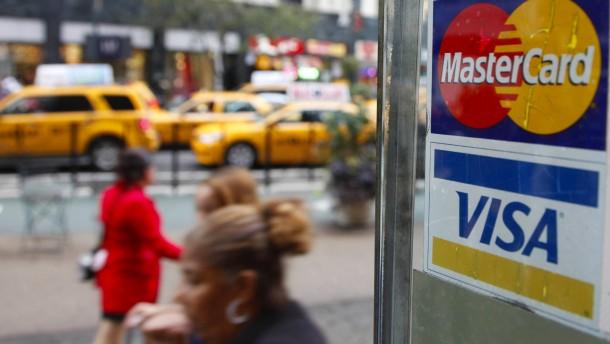 Visa profitiert von gestiegener Kauflaune