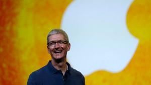 Kaffee mit Apple-Chef heiß begehrt