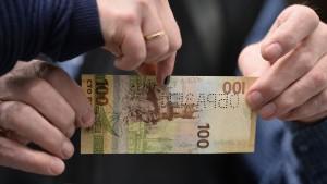 Russland gibt 100-Rubel-Note mit Krim-Motiven heraus