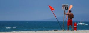 Hier lässt es sich arbeiten: Strand von Venice, nahe Los Angeles.